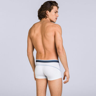 White DIM Sport trunks, , DIM