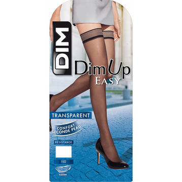 Bas up noirs transparents DIM UP EASY 15D-DIM