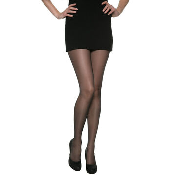 DIM Signature Galbe Prodigieux 25 curve control tights in black, , DIM