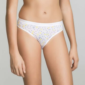 3 pack blue, canary and lemon printed - Pocket Lemon, , DIM