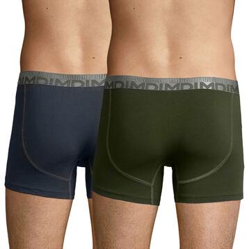 2 Pack trunks Granite Grey and Khaki Green 3D Flex Morphotec, , DIM
