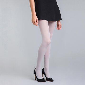 Collant opaque velouté gris lune  50D Style-DIM