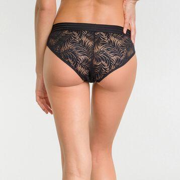 Black lace shorty - MOD de Dim, , DIM