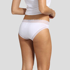 2 pack white and nude pink briefs Sexy Fashion by Dim, , DIM