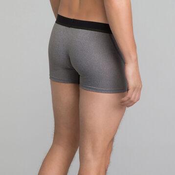 2 pack sports trunks in grey microfiber - Dim sport, , DIM