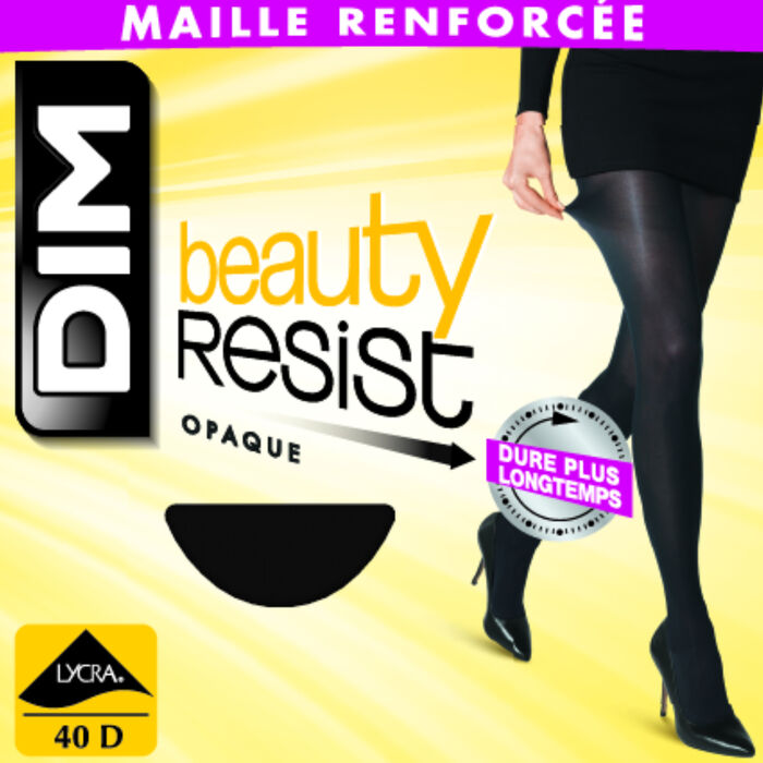 Beauty Resist 40 Opaque tights in black, , DIM