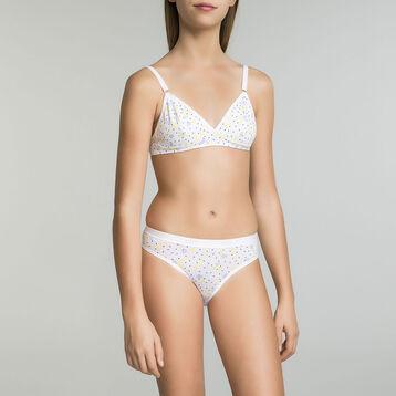 Triangle bra with lemon prints Dim Girl - Pocket Lemon , , DIM