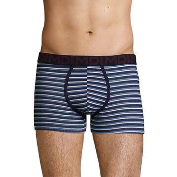 Men's stretch cotton trunks with Stripe Print Mix & Fancy, , DIM