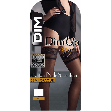2889db7cd DIM Up negras Nude Sensation semiopacas 25D