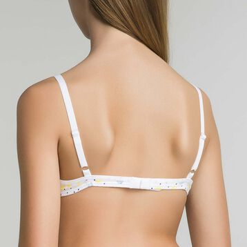 Triangle bra with lemon prints Dim Girl - Pocket Lemon , , DIM