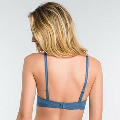 Balcony padded bra in antique blue - Dim Daily Glam, , DIM