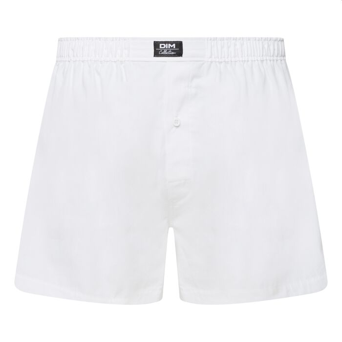 Men's white boxer shorts Dim Collection, , DIM