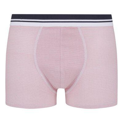 Dim Fancy Men's stretch cotton trunks with herringbone pattern, , DIM