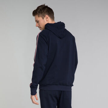 Navy blue hoodie - Mix and Match, , DIM
