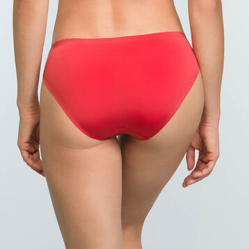 Women's Casual Red microfiber briefs InvisiFree, , DIM