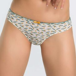 Women's brief with laurel prints - Dim Odyssée, , DIM