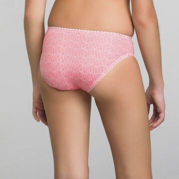 Grenadine pink brief for Girl - Dim Touch, , DIM