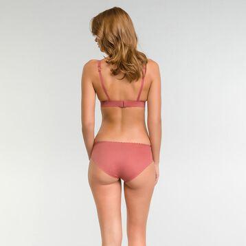 Soutien-gorge triangle sans armatures rose cedar - Dim Body Touch, , DIM