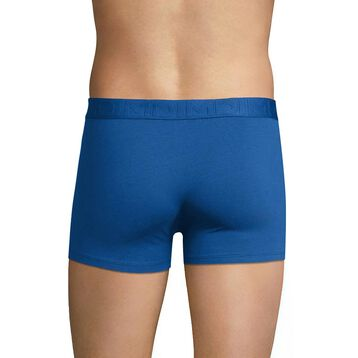 Blue night trunks with white seams - Dim Mix & Fancy, , DIM