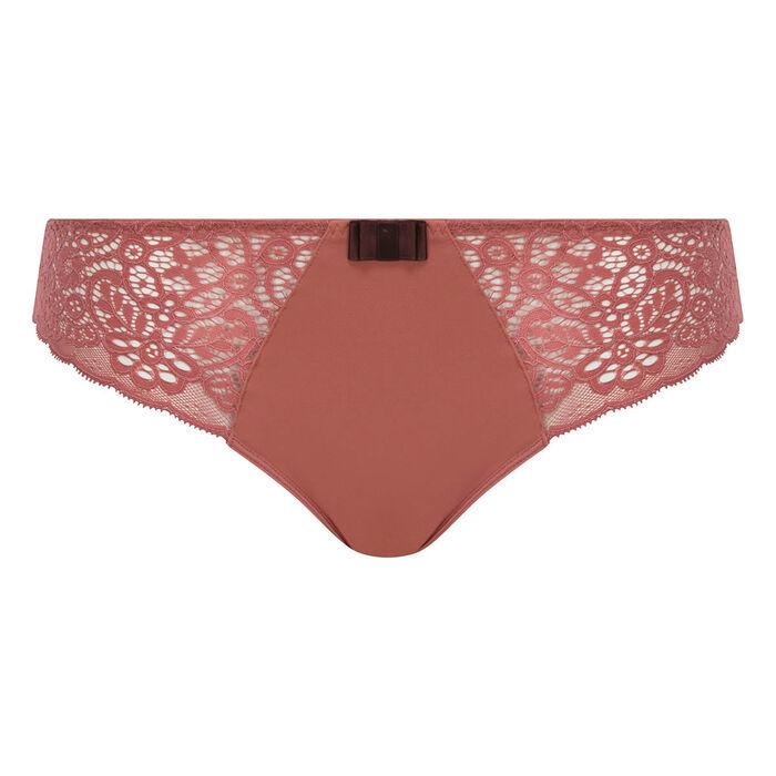 Cedar pink lace brief - Dim Sublim Dentelle, , DIM