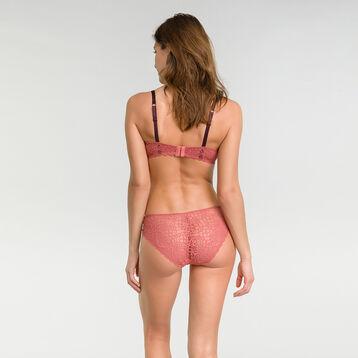 Balcony bra in cedar pink - Dim Sublim Dentelle, , DIM