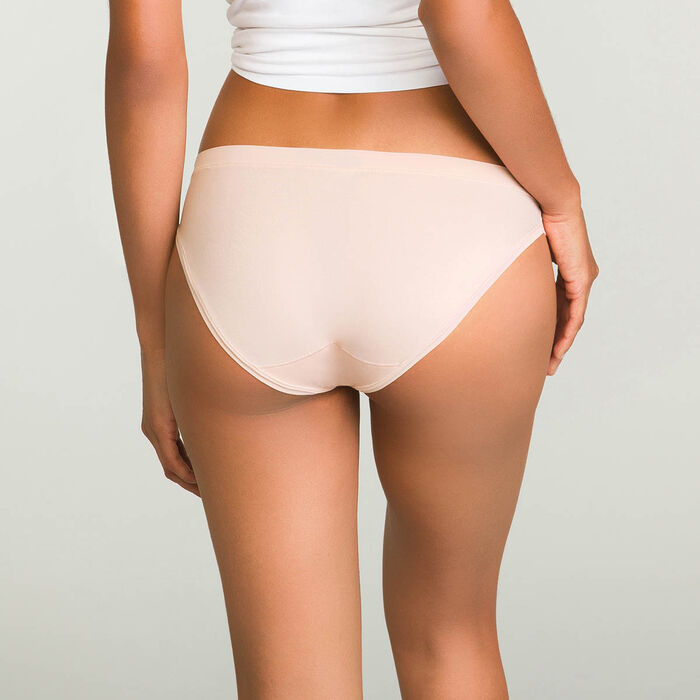 2 pack women's briefs in Nude Pink and Taupe Body Move , , DIM