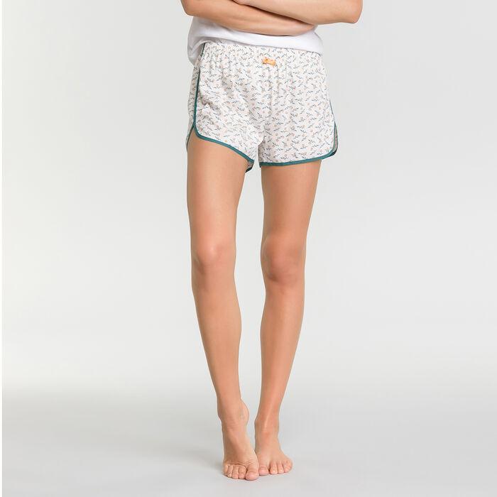 Pantalón corto con estampado de limones - DIM Odyssée, , DIM
