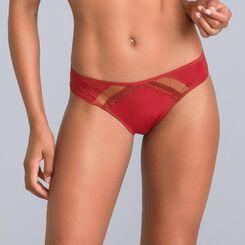 Culotte brésilienne rouge cuivré Trendy Micro-DIM