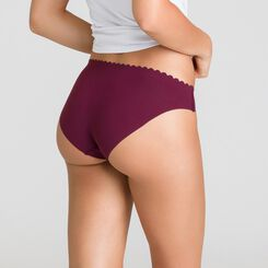 Set of 2 Body Touch sangria and deep red briefs - DIM