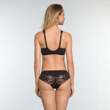 Black lace full cup bra Generous Essentiel , , DIM