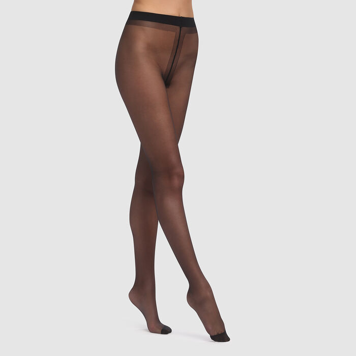 Black sheer tights Firming Activ Sublim Dim 20D, , DIM