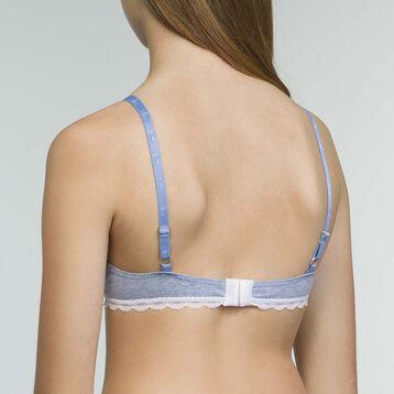 DIM Girl Triangle Bra in Night Grey Dim Trendy, , DIM
