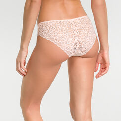 Pink lace brief - Dim Sublim Dentelle, , DIM