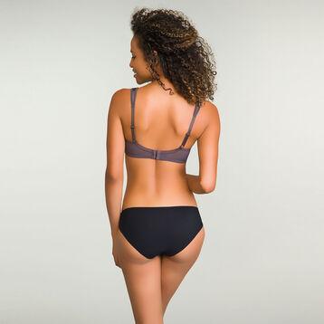 Women's Brazilian Tanga in Black Lace Daily Glam Trendy Sexy, , DIM
