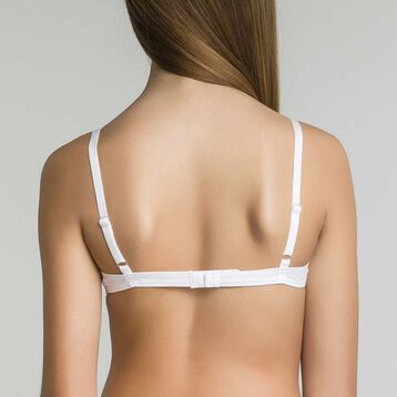 DIM Girl white triangle bra - DIM