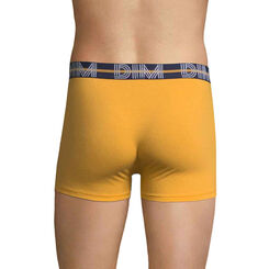 DIM Powerful mustard yellow boxers - DIM
