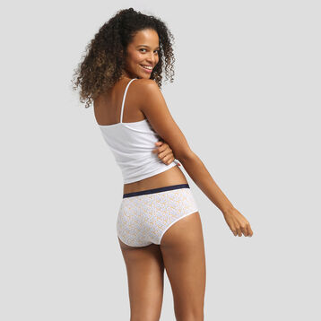 3 pack mimosa print shorties Les Pockets Coton Stretch de Dim, , DIM