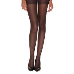 Black AbsoluFlex 20 sheer tights, , DIM
