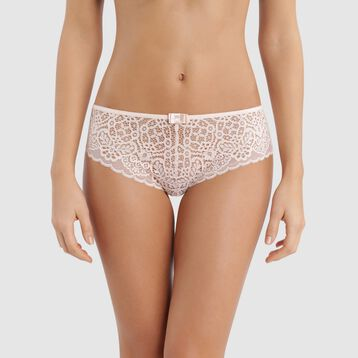 Shorty dentelle rose ballerine - Sublim Fashion, , DIM