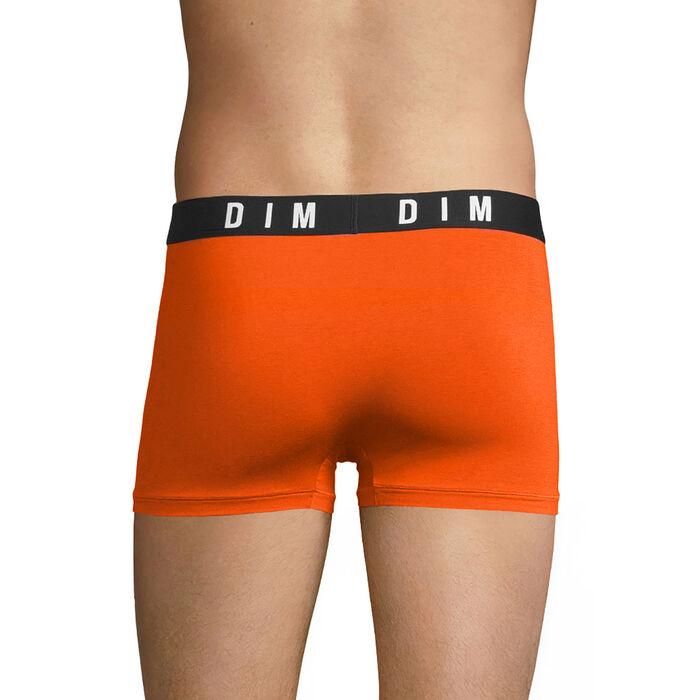 Orange trunks in cotton and modal - DIM Originals, , DIM
