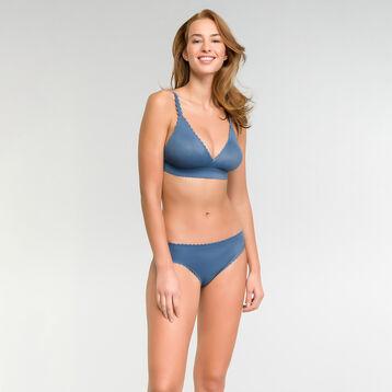 Triangle antique blue wireless bra - Dim Body Touch, , DIM
