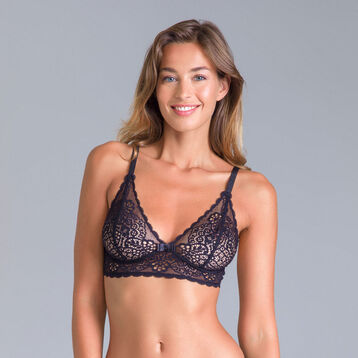 DIM Sublim MOD black triangle bra - DIM