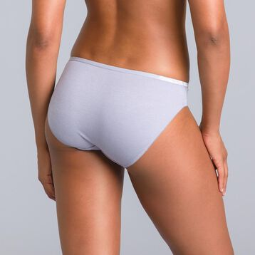 Pockets limited edition feather grey knickers - DIM
