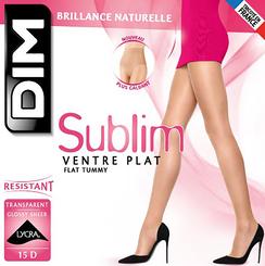 Collant noir Sublim Ventre Plat 15D-DIM
