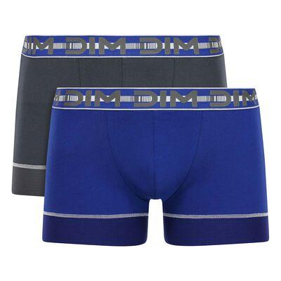 Набор 2шт.: Боксеры синего и серого цвета 3D Stay & Fit, , DIM