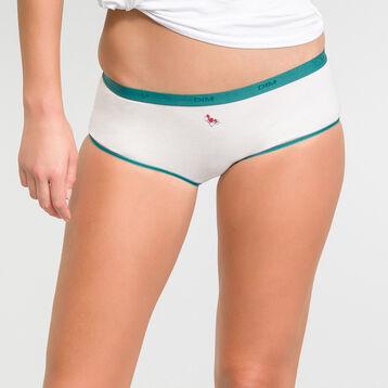 Lot de 5 boxers Femme Myosotis - Les Pockets Coton Stretch, , DIM