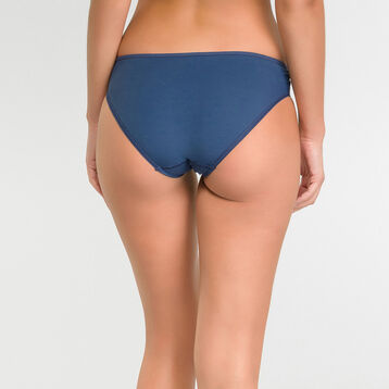 Microfiber brief in summer night blue color – Dim Generous, , DIM