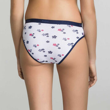 4for3 navy and blue briefs pack Dim Girl - Les Pockets  , , DIM