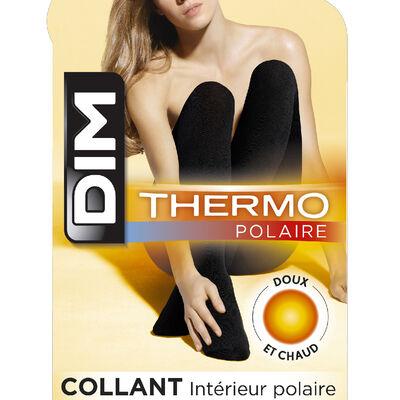 Black Thermo Polaire 143 warm tights, , DIM