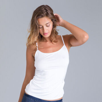 Pockets white cami - DIM